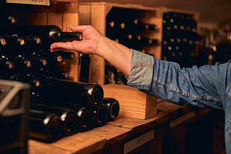 Wijn verzamelaars