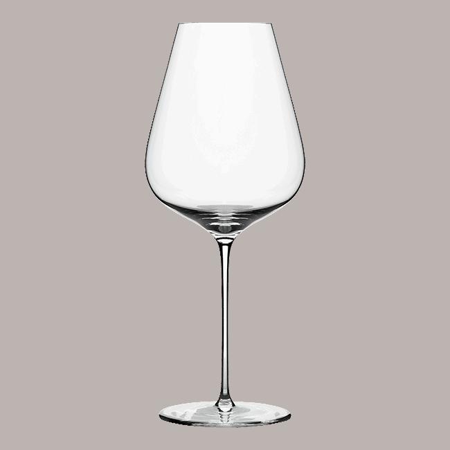 Burgundy glass pack 6